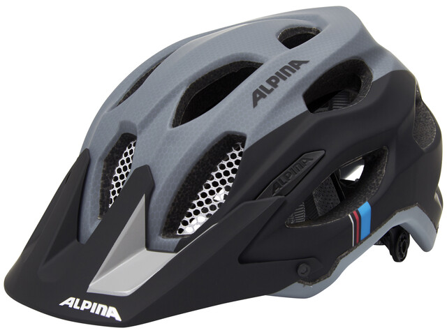 Alpina Carapax Helmet black-grey